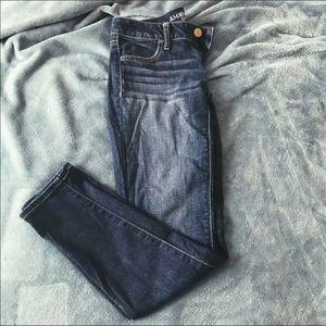 2 short aeo jeans
